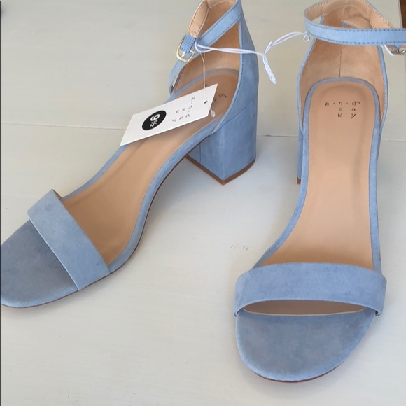 243d7acdd NWT Blue Michaela Pumps from A New Day